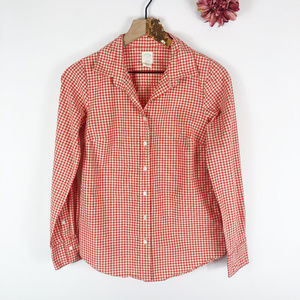 [J. CREW] The Perfect Shirt Button Down Blouse